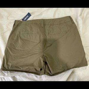NWT old navy shorts sz 4